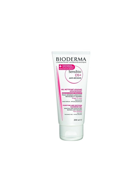 Bioderma SENSİBİO DS + FOAMİNG GEL 200 ML Renksiz